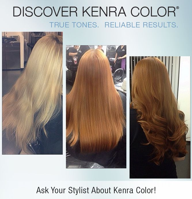 Pin by Kenra Professional on Reds and Coppers | Kenra ...