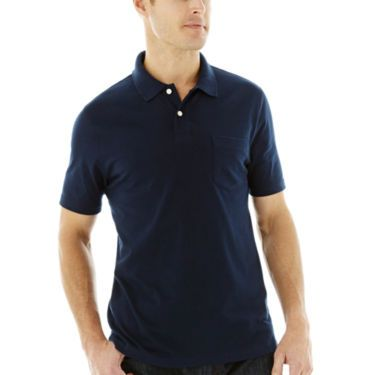 909f060c8f2 St. John's Bay® Short Sleeve Solid Jersey Polo - Resort - JCPenney ...