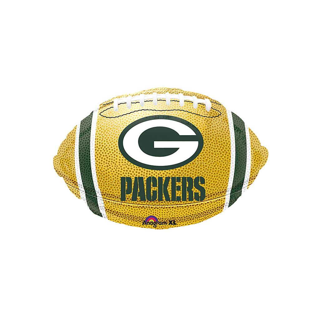 Packers Football Balloon Green Bay Packers Nfl Balloon Green Bay Packers Decorations Green Bay Packers Balloon Packers Birthday In 2020 Packers Football Football Balloons Green Bay Packers Decor