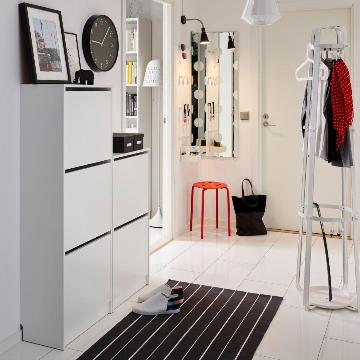 Hallway storage shoes  Ιδέες για τα έπιπλα εισόδου  IKEA Ελλάδα  Хранение  Pinterest