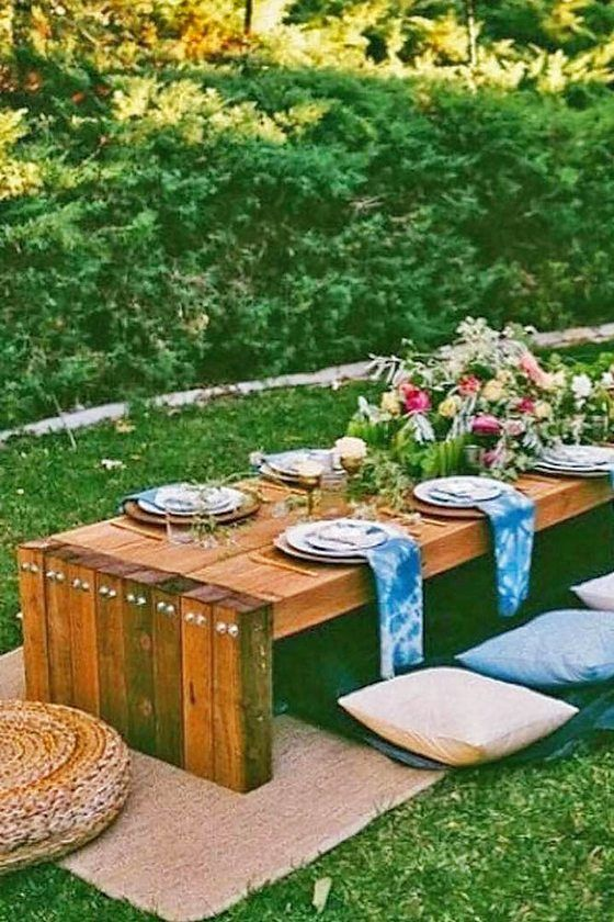 25 Fun Outdoor Picnic Wedding Ideas to Copy | Picnic weddings ...