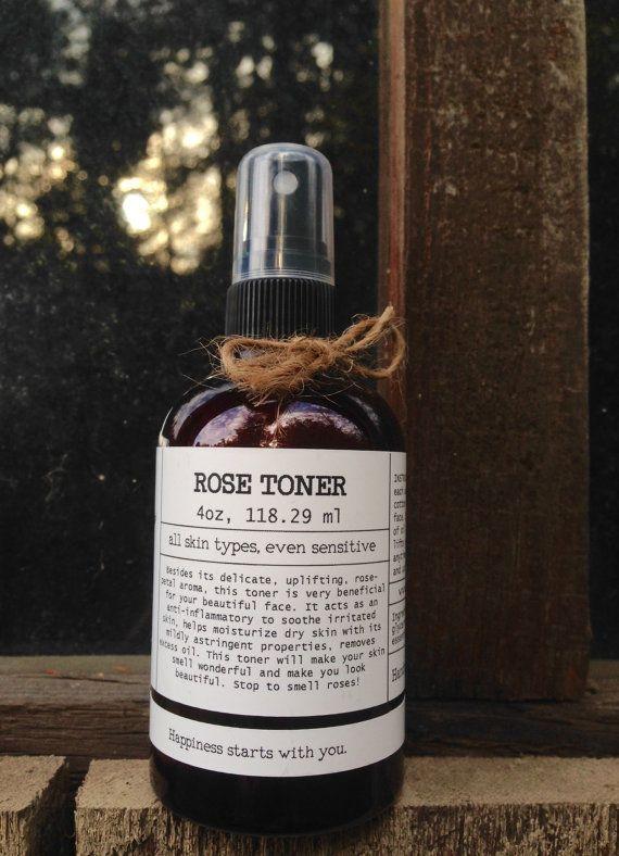 Rose Water Toner Rose Toner Aromatherapy Spray Facial Toner