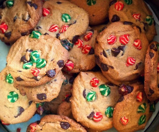 Colorful Nestle Toll House Chocolate Chip Cookies Cookies
