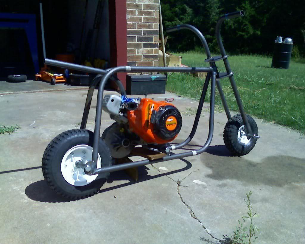 Minibike In Progress Shot Tools And Diy Pinterest Minibike