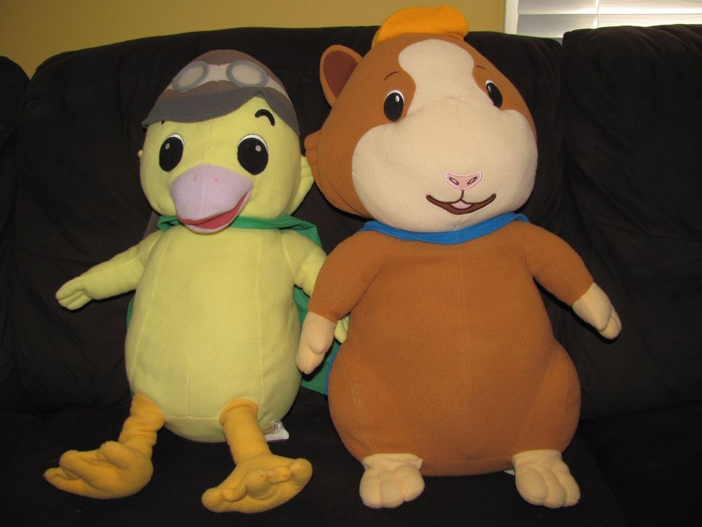 Wonder Pets Plush Pillow Lot Large Jumbo Stuffed Toys Wonder Pets Pet Toys Plush Pillows
