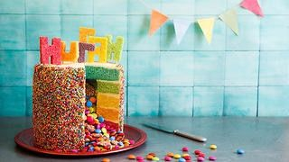 Photo of Rainbow piñata birthday cake | Cake recipes | SBS Food