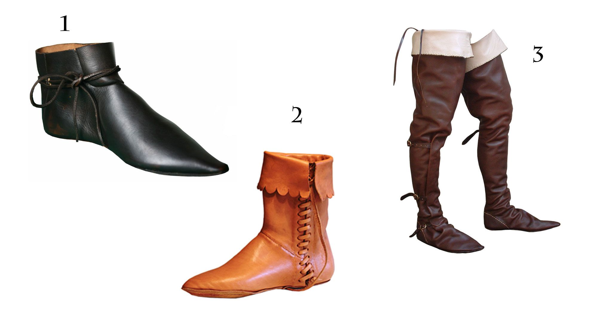 Footwear Of The Middle Ages - Google Search
