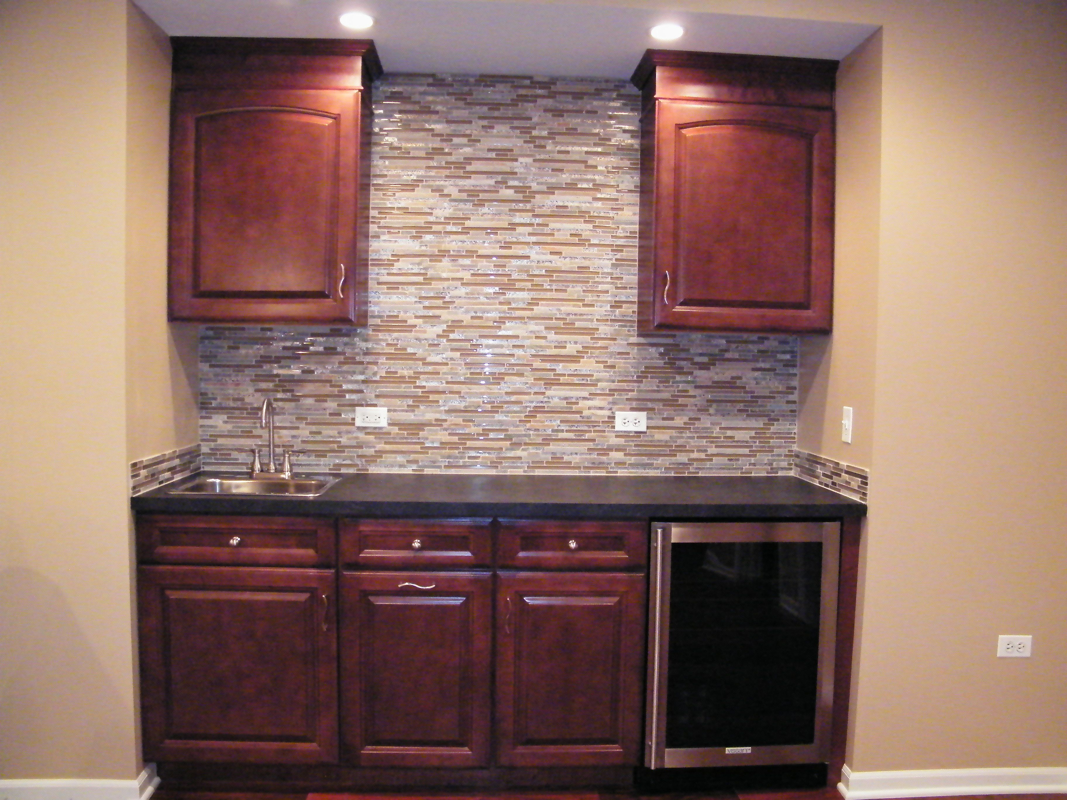 Wet Bar Cabinets Aristocraft Rouge Wet Bar Cabinets Finishing Basement Wet Bar