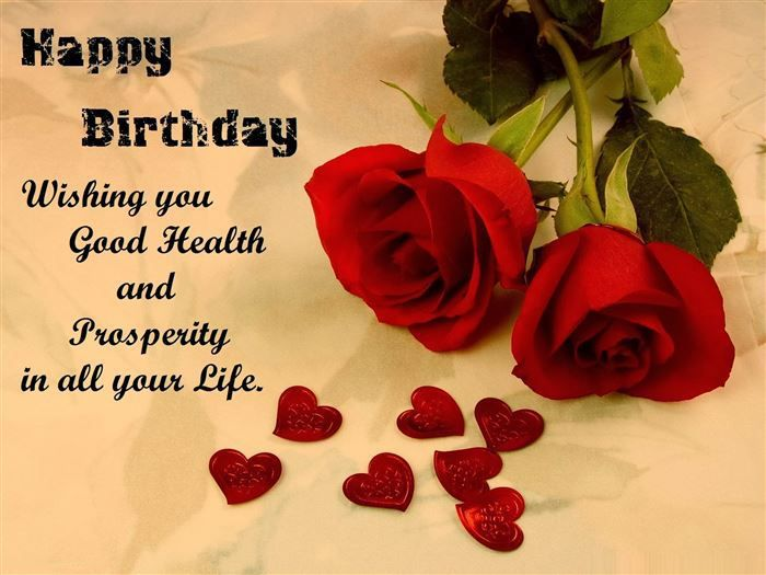 Happy Birthday Wishes Jaan ~ Happy birthday wishing you good health and prosperity in all your