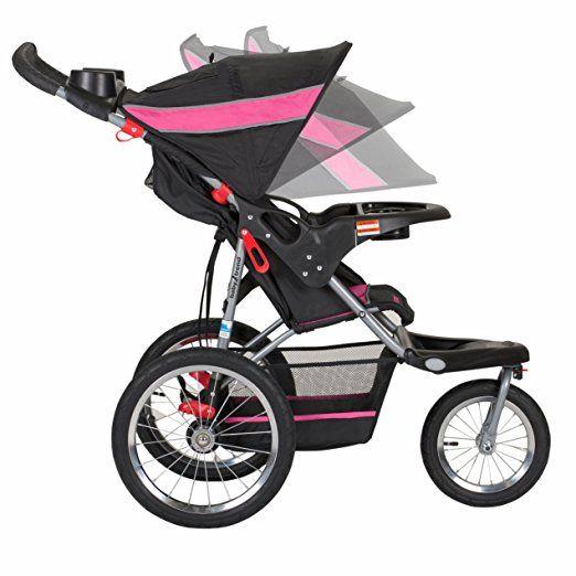 67a73b6b09b01 Amazon.com : Baby Trend Expedition Jogger Travel System, Phantom : Baby