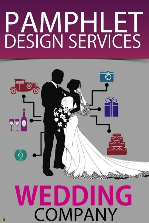 pamphlet designing and printing services for wedding company flyer