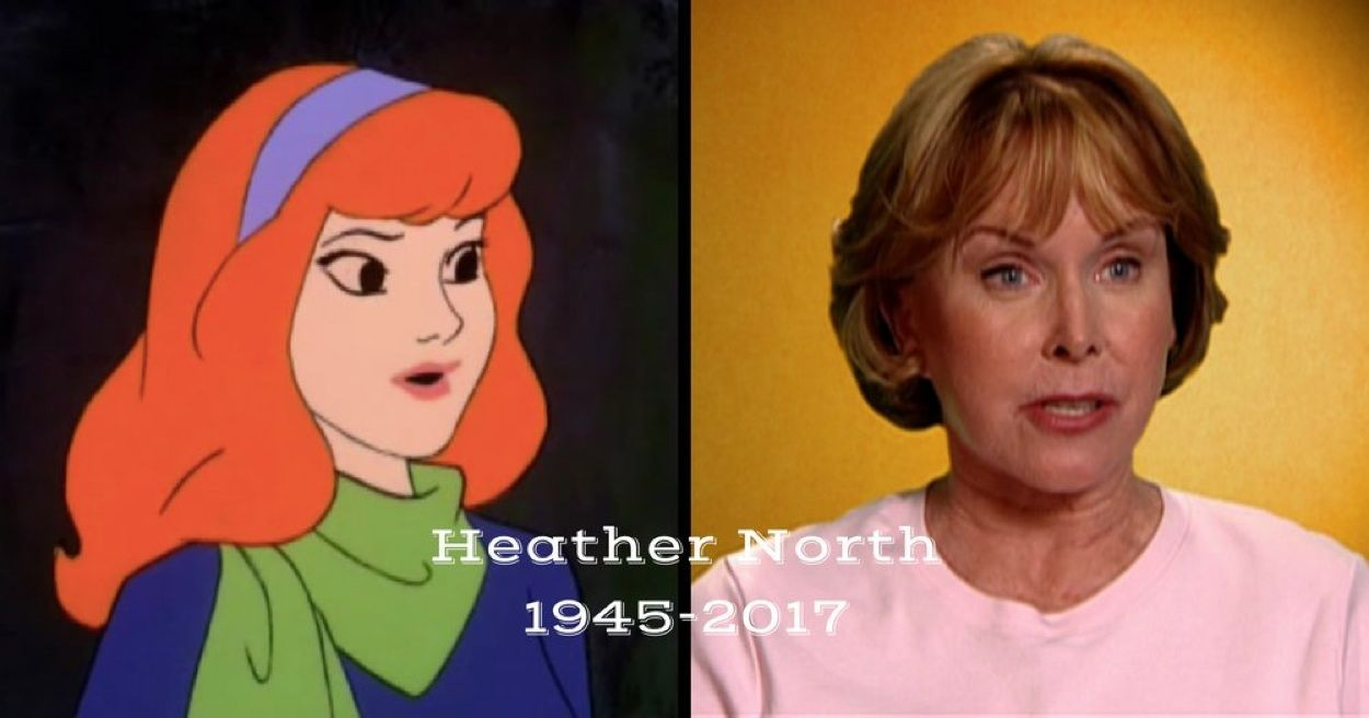 Oh yeah, and we recently lost Heather North, the voice of
