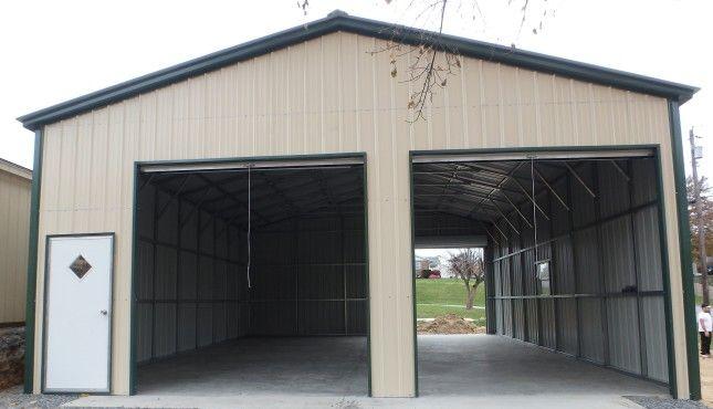 30x36 All Vertical Certified Workshop Structure For Sale Garage Door Design Garage Design Metal Shop Building