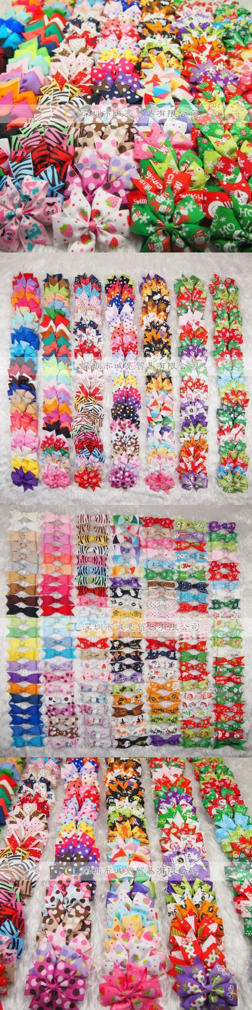Hair accessories for babies ebay - Hair Accessories 18786 Wholesale Colorful Girl Baby Toddler Kids Boutique Hair Bows Grosgrain Ribbon