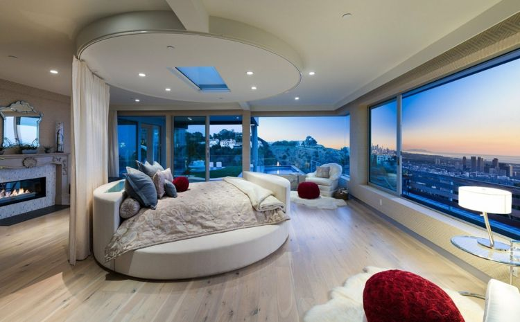 Round Beds For The Bedroom Furnishings 36 Ideas Chambre