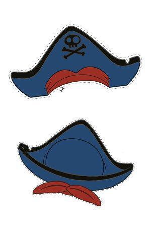 Capitan Jake - Sombrero | Ideas cumpleaños jake y los piratas ...