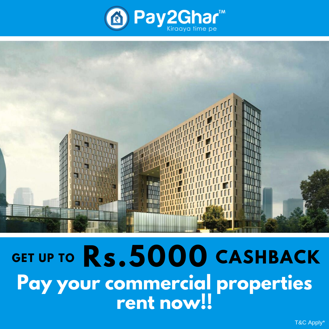 Pay your commercial properties to rent on Pay2Ghar and get