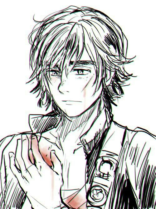 Wounded Hiccup. :( <<< Instantly thought of Captain Fury