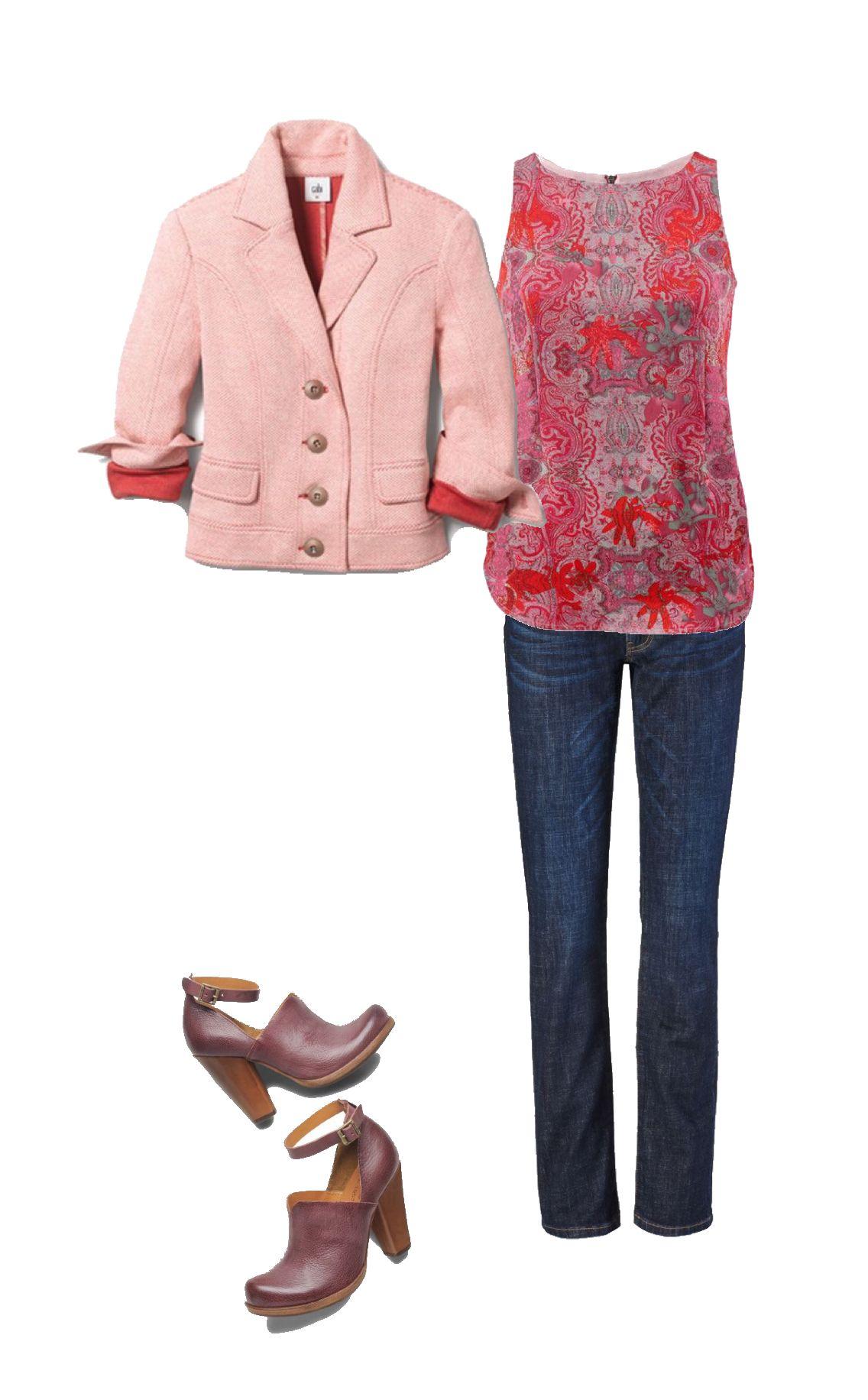 f03446b1a3bcf8 Mixing seasons...Shop Karen McDonald.cabionline.com | cabi Spring 18 ...