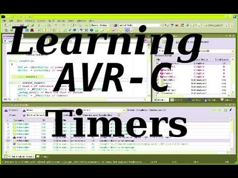 ▷ Learning AVR-C Episode 6: Timers - YouTube With Good Link To a