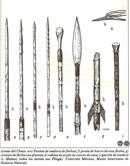 armas usadas por los aborigenes argentinos - Google Search | Gauchos ...