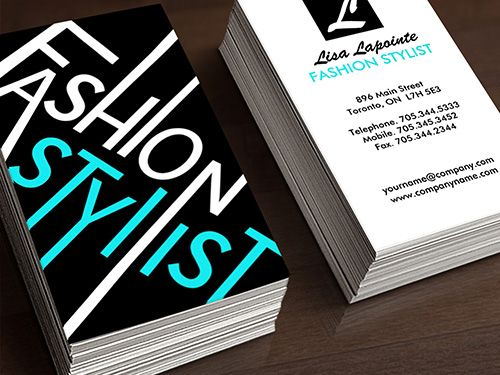 Fashion Stylist Business Card Template | KIARA | Pinterest | More ...
