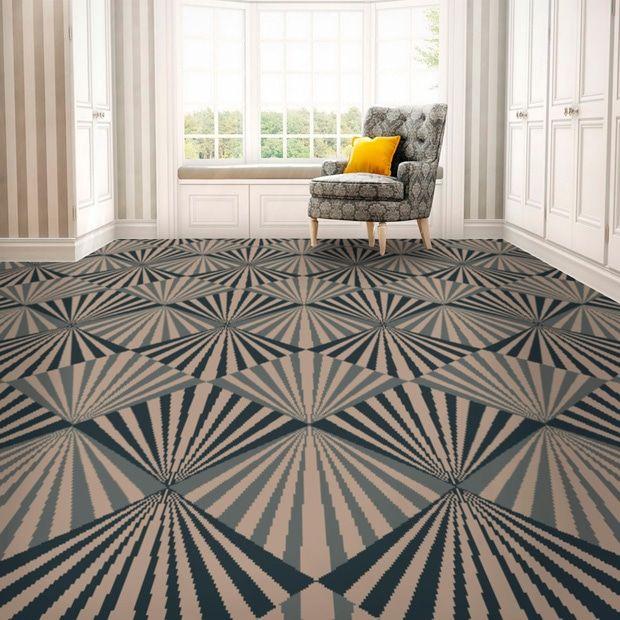 Art Deco Patterned Carpet Art Deco Deco