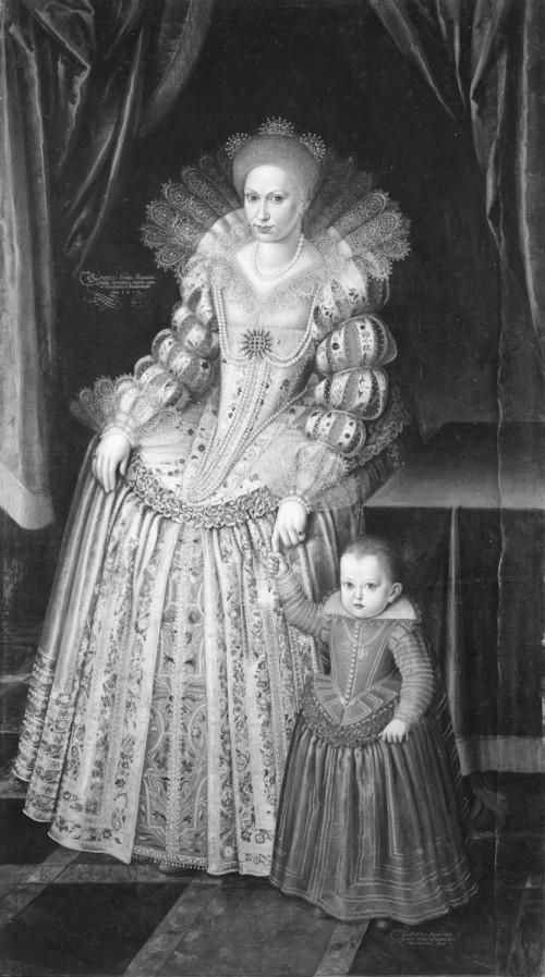 Magdalene Sibylle of Prussia (31 December 1586 – 12 February 1659) was an Electress of Saxony as the second spouse of John George I, Elector of Saxony.