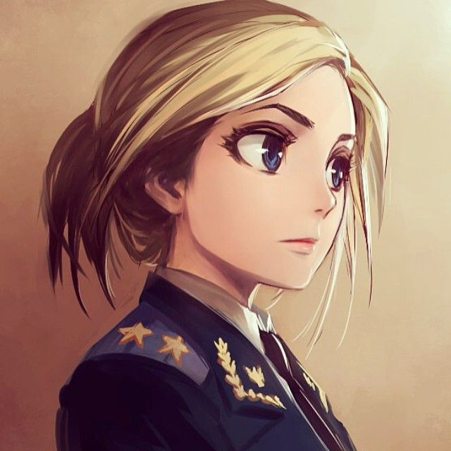 Semi Realism Anime Google Search Natalia Poklonskaya Anime Military Anime