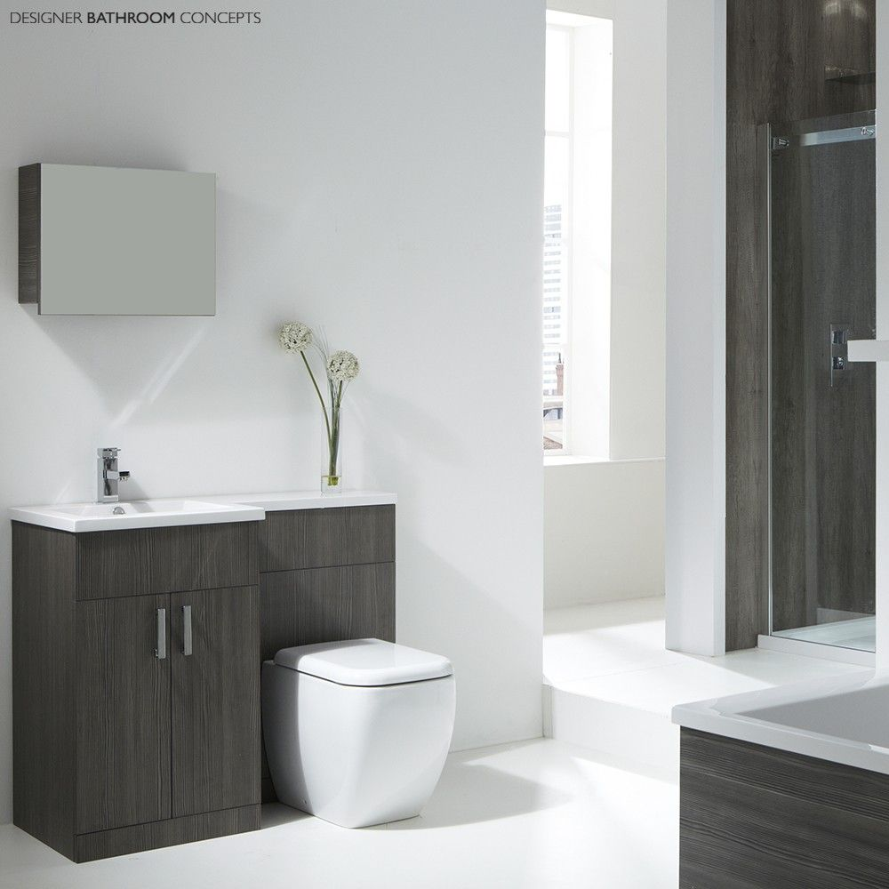 Aquatrend Petite Designer Freestanding Bathroom Furniture Collection ...