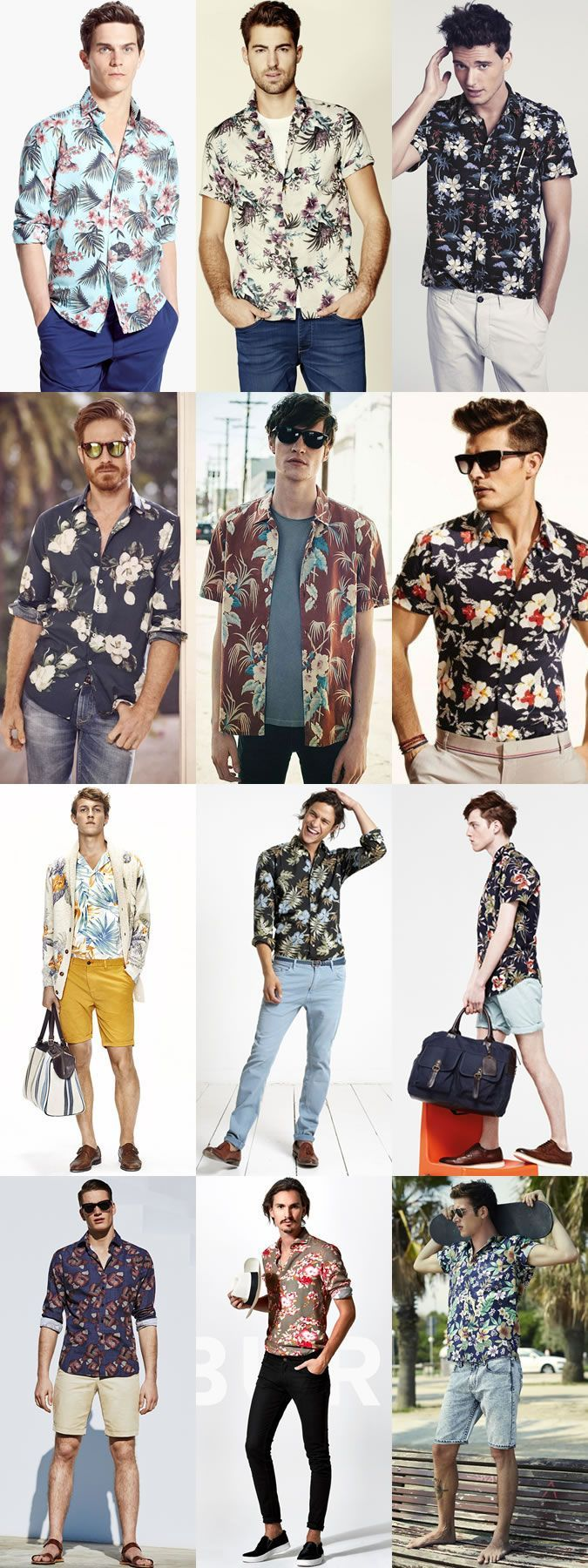 20 Floral Shirt Outfits For Men picture