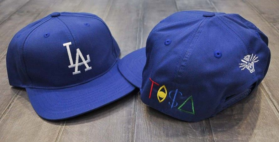 397db68937a65 Tisa Snapbacks Dodgers Hats Caps Blue