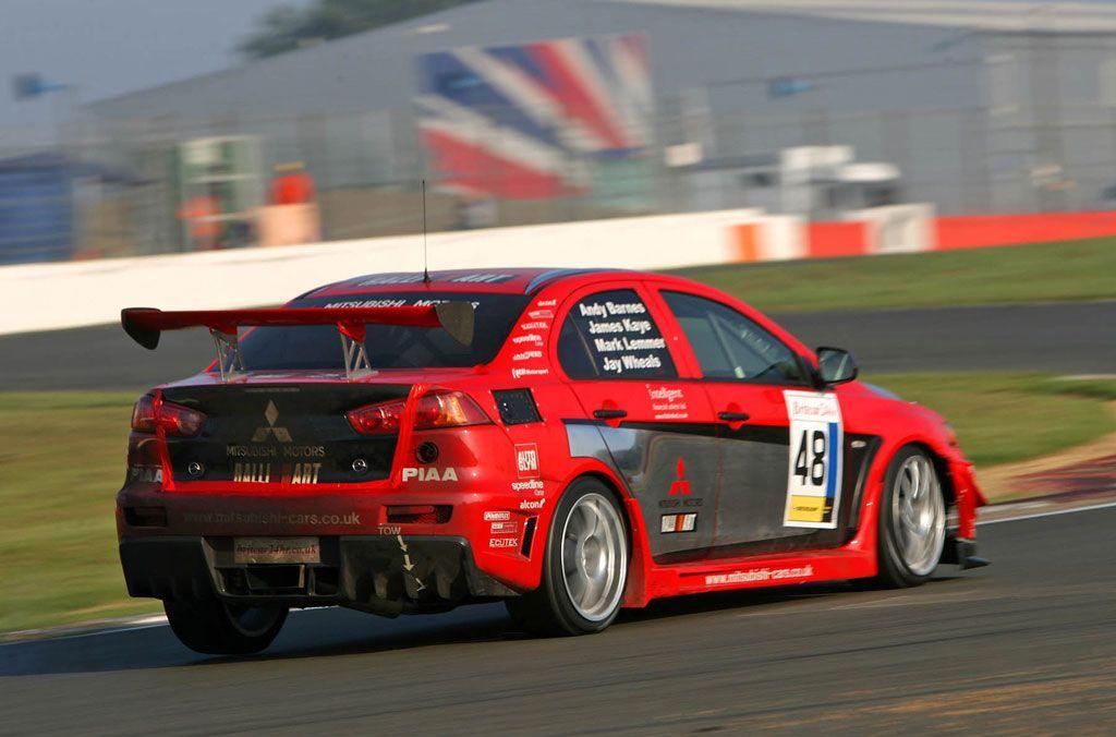 Lancer Evolution X Race Car - Britcar Debut