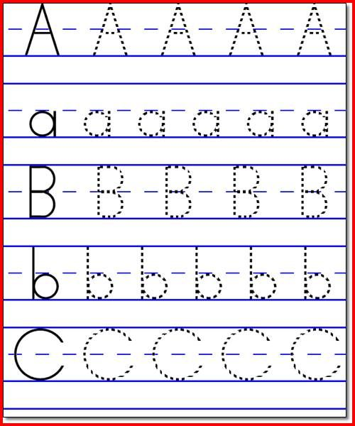 Collection Kindergarten Abc Worksheets Pictures - Worksheet for ...