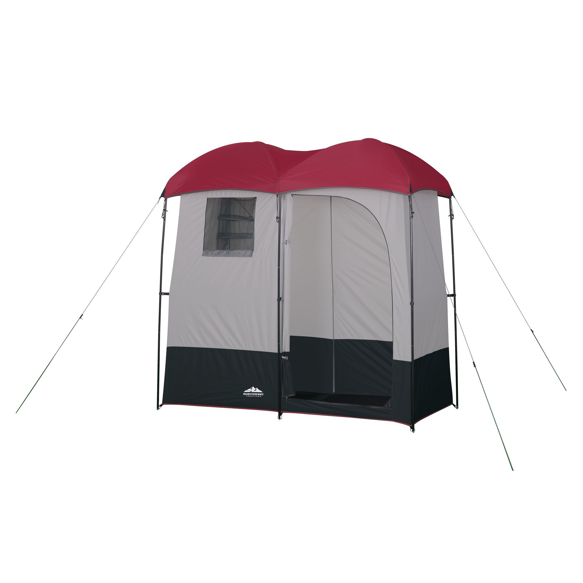 Double Shower Changing Room Kmart With Images Camping Shower