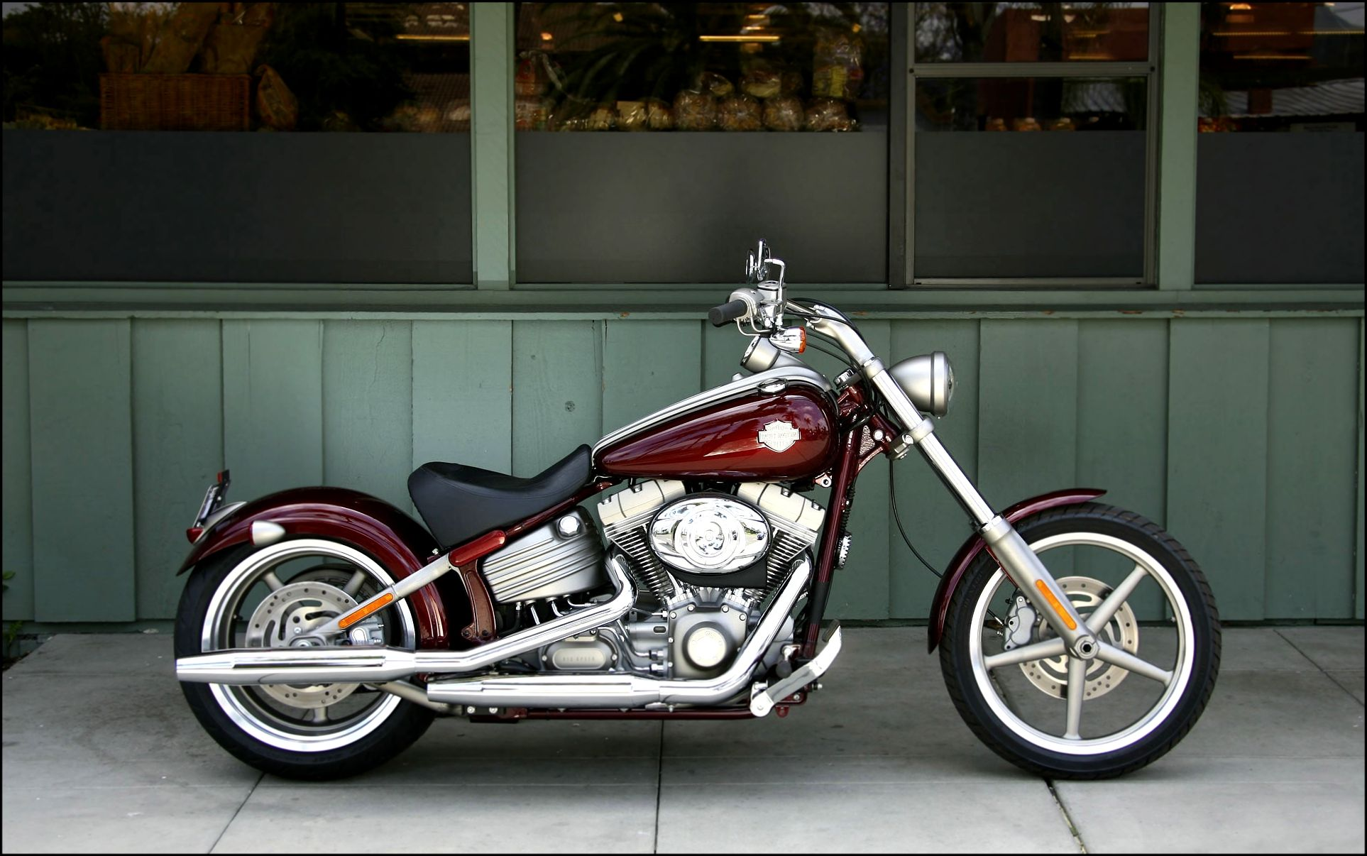 Harley Davidson Fxcwc Rocker C Softail | Harley Davidson motorcycles