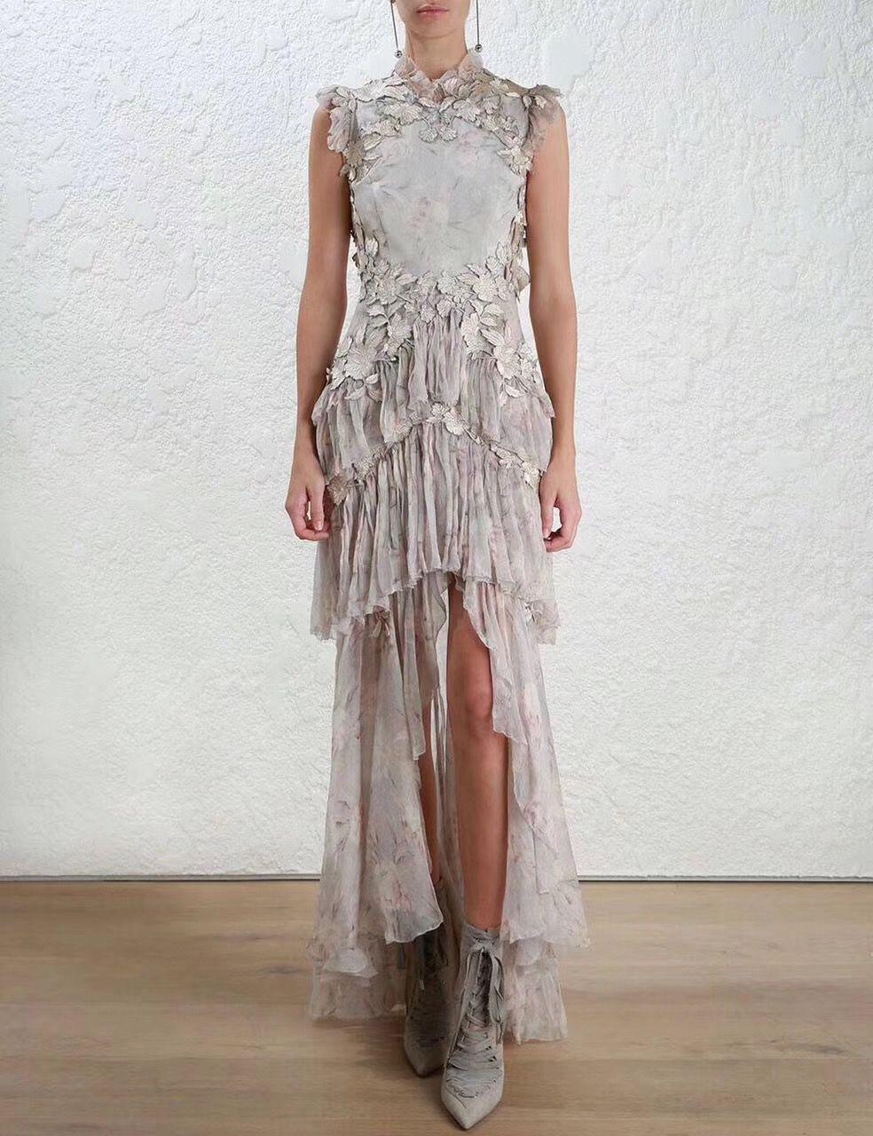 9c7d6377e3c3 Zimmermann Stranded Tier Dress | dresses/rompers/formal | Dresses ...