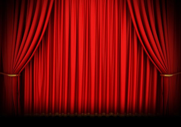 Red Curtain Background Red Curtains Curtains Theatre Curtains