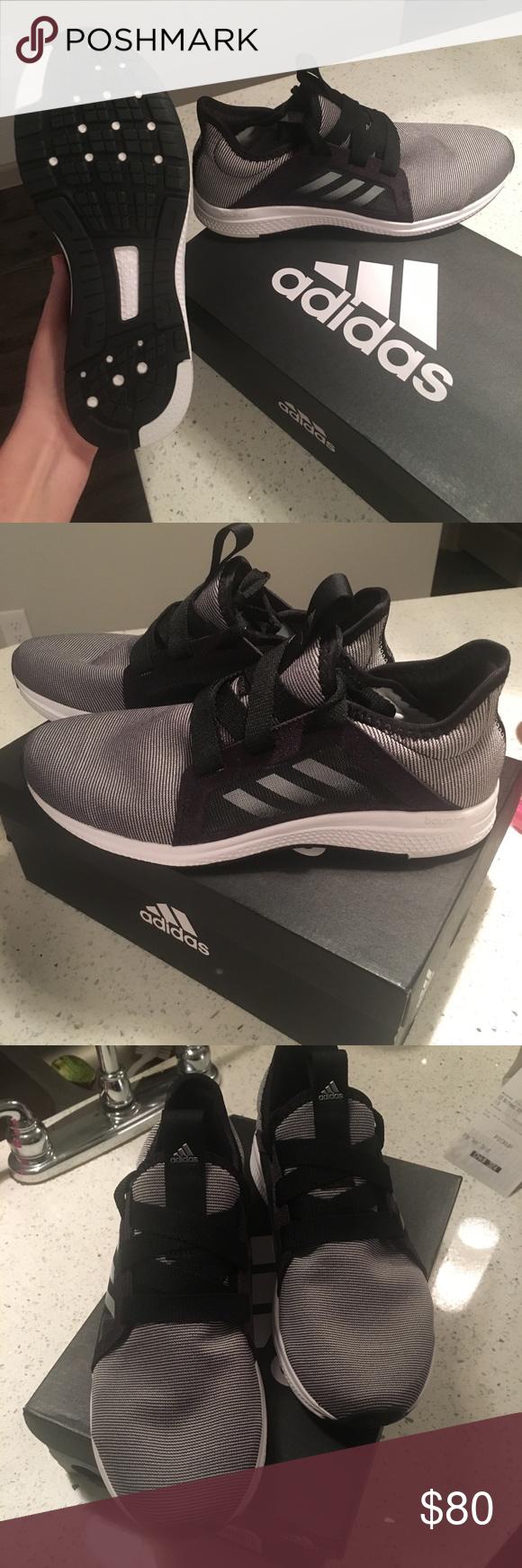 le adidas edge lux (nero / grigio) numero 7 sono il nero / grigio