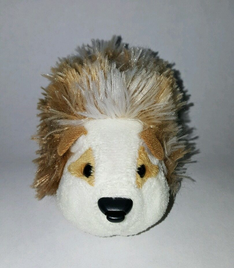Zhu Zhu Pet Hamster Zuzu Golden Brown Fluffy With Name Tag Tested And Working Pets Fluffy Hamster