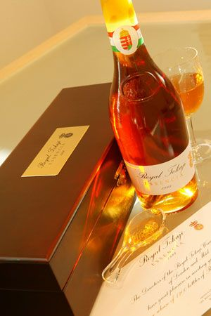 Royal Tokaji - one of the best wines I ever tasted
