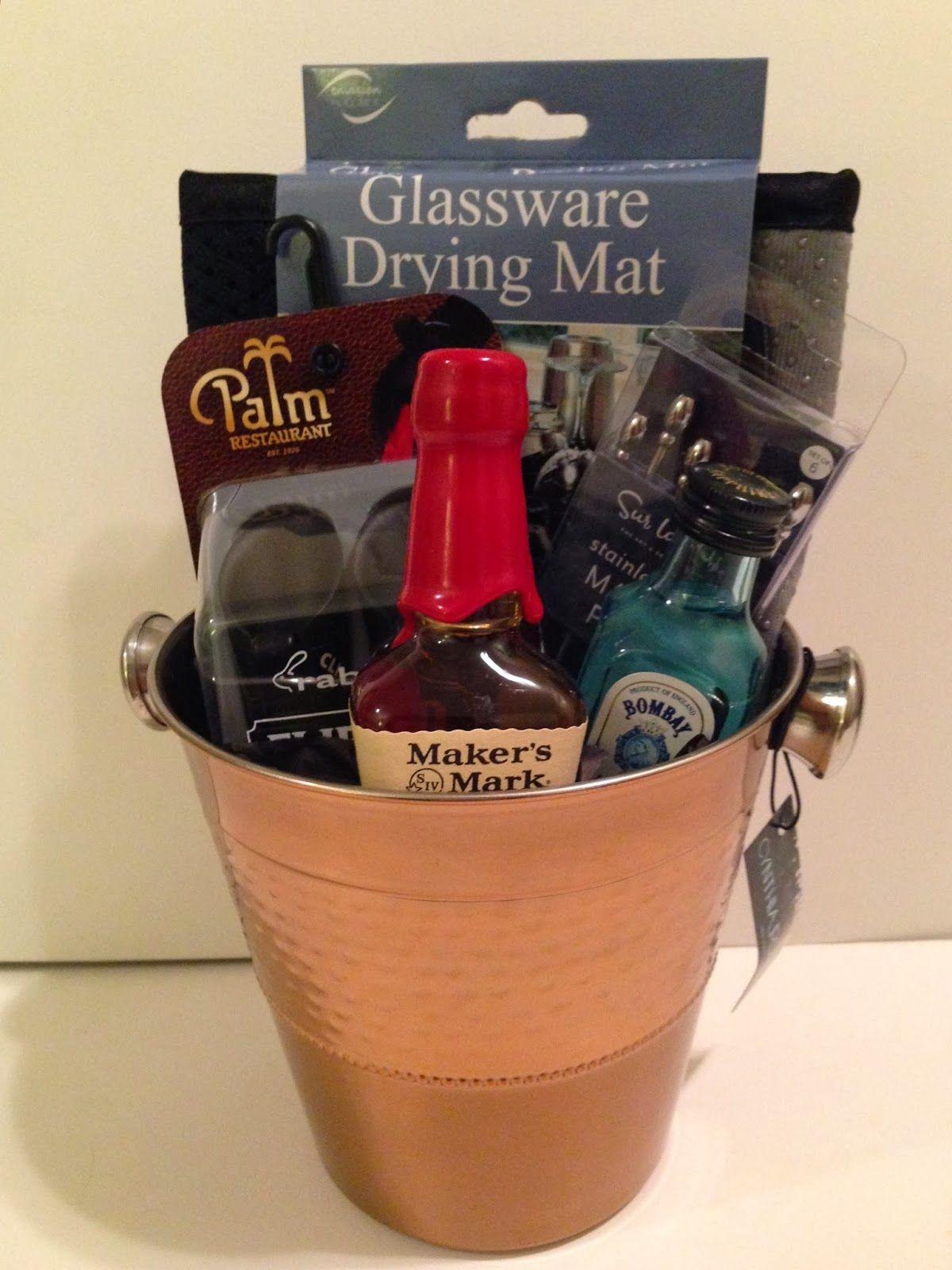 Bartender Gift Basket | gifts | Pinterest | Gift, Basket ideas and ...