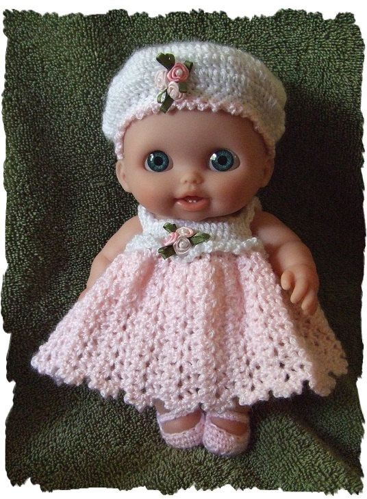 Crochet Pattern For Lil Cutesie Doll 8 Inch And 10 By Alcarrico32 4 99 Crochet Dolls Crochet Patterns Crochet Doll Clothes