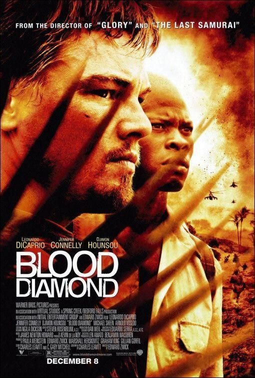 Diamantes De Sangre 2006 Edward Zwick Peliculas Diamante De Sangre Peliculas De Drama