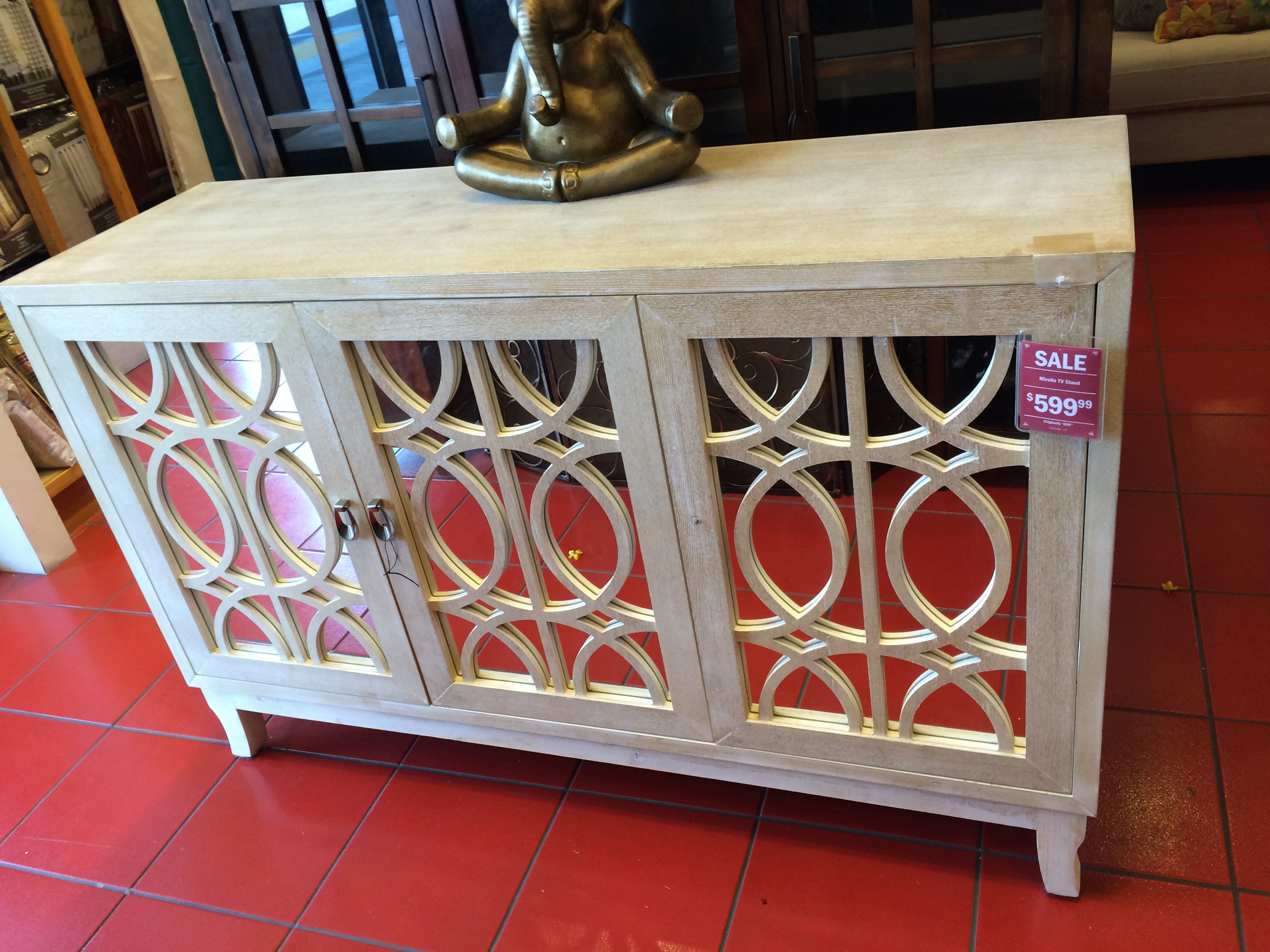 Mirella Tv Stand At Pier Just Not Big Enough For A Sideboard - Pier 1 tv console table