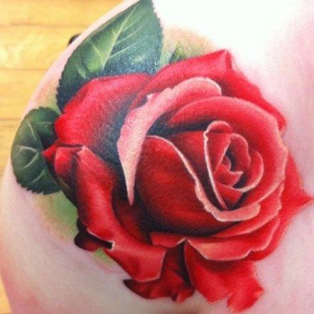 46+ Ideas For Flowers Tattoo Drawing Realistic | Rose tattoos, Pink rose tattoos, Rose tattoo design