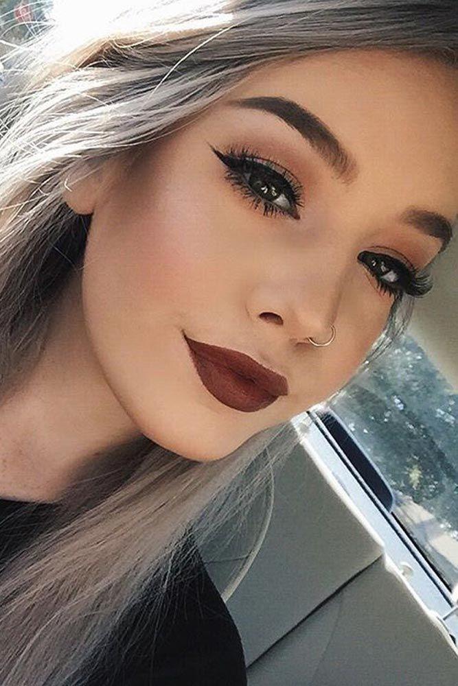 Beautiful Makeup Of Girl Natural Makeup No