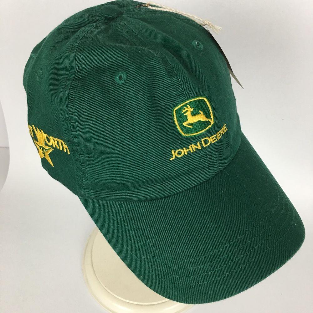 c56ccfec New John Deere Fort Worth Strapback Hat Baseball Trucker Cap Mens  Embroidered #Ahead #BaseballCap