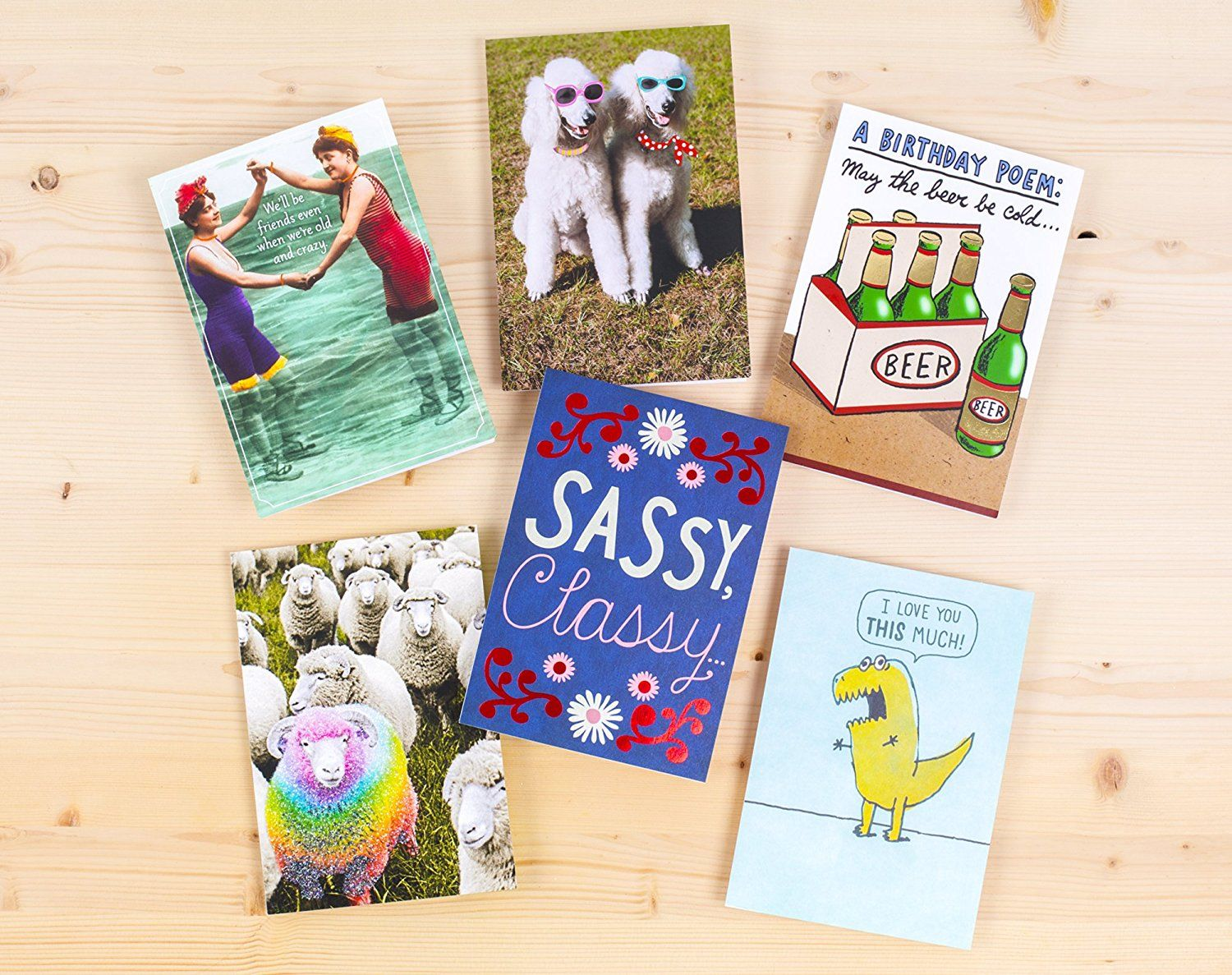 10 birthday cards and 10 envelopes Best birthday gifts
