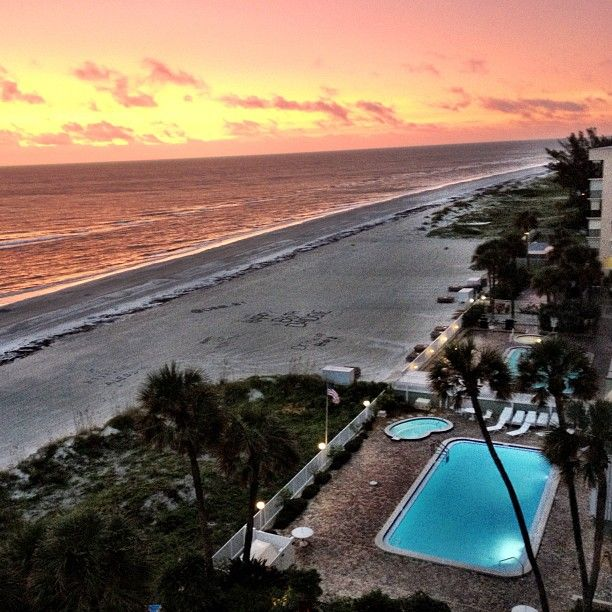 Indian Beach: Indian Shores Florida - On The Beach!